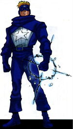Trenton Craft (Earth-616) from Official Handbook of the Marvel Universe A-Z Update Vol 1 1 0001