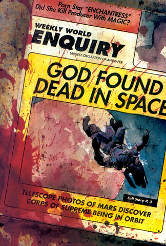 File:Weekly World Enquiry (Earth-9591) from Ruins Vol 1 1 001.png