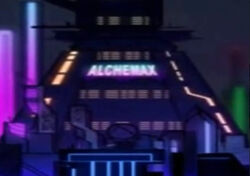 Alchemax (Earth-TRN579) from Spider-Man Edge of Time 001