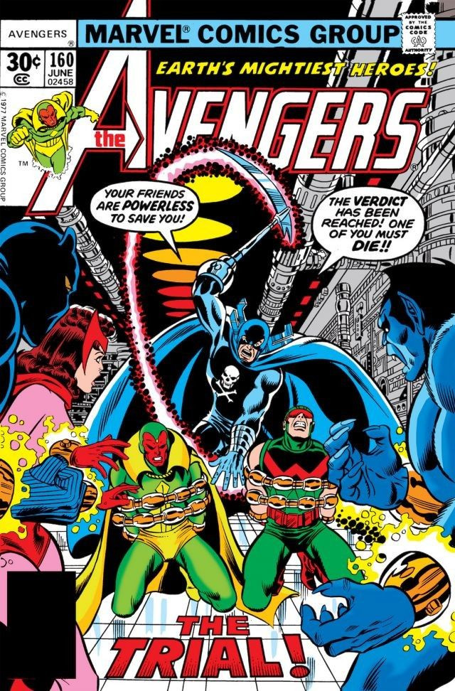 Avengers Vol 1 160 | Marvel Database | FANDOM powered by Wikia