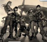 Banshee Squadron (Earth-616) from Captain Marvel Vol 7 4 001