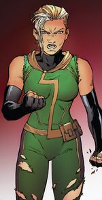 Carol Danvers (Earth-9289) from Infinity Countdown Captain Marvel Vol 1 1 001