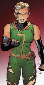 Carol Danvers (Earth-9289) from Infinity Countdown Captain Marvel Vol 1 1 001