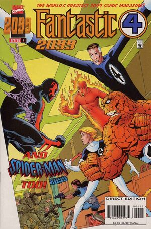 Fantastic Four 2099 Vol 1 4