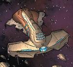 Hammer (Vehicle) from X-Men Emperor Vulcan Vol 1 1 0001