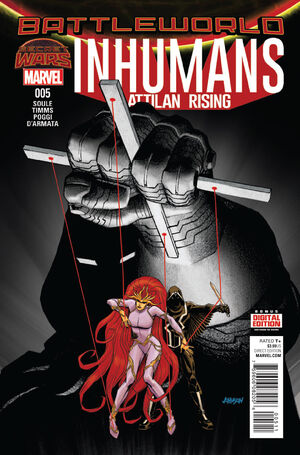 Inhumans Attilan Rising Vol 1 5