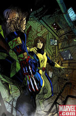 Katherine Pryde (Earth-14850) and James Howlett (Earth-14850) from What If Wolverine Enemy of the State Vol 1 1 0001