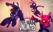 Spider-Ham Family (Earth-TRN461) from Spider-Man Unlimited (video game) 002