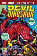 True Believers Kirby 100th - Devil Dinosaur Vol 1 1