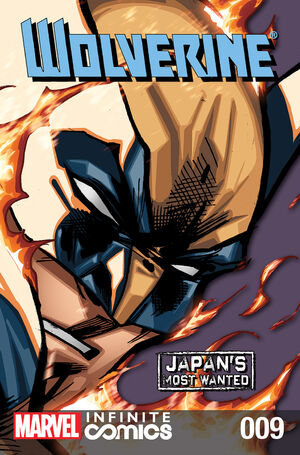 Wolverine Japan's Most Wanted Infinite Comic Vol 1 9