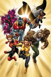 X-Men Gold Vol 2 1 Textless