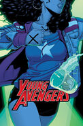 Young Avengers Vol 2 3 Textless