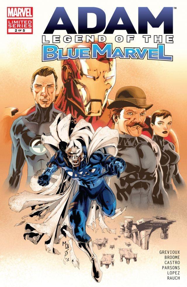 Adam Legend of the Blue Marvel Vol 1 2