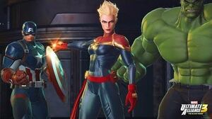 Captain Marvel joins Marvel Ultimate Alliance 3 for Nintendo Switch!