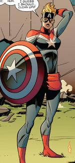 Carol Danvers (Earth-18197) from Venomverse War Stories Vol 1 1 001