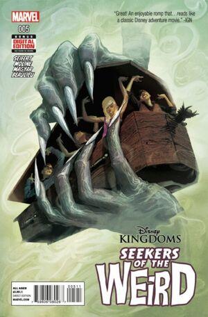 Disney Kingdoms Seekers of the Weird Vol 1 5