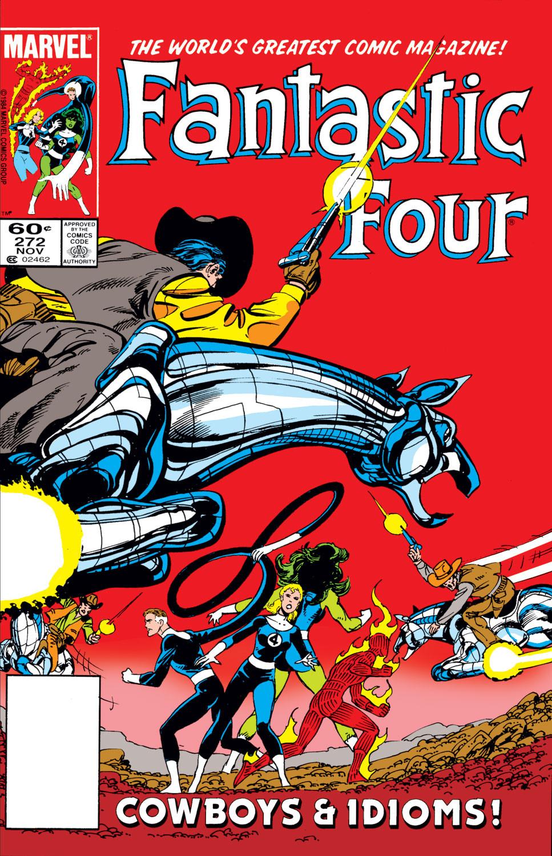 Fantastic Four Vol 1 272