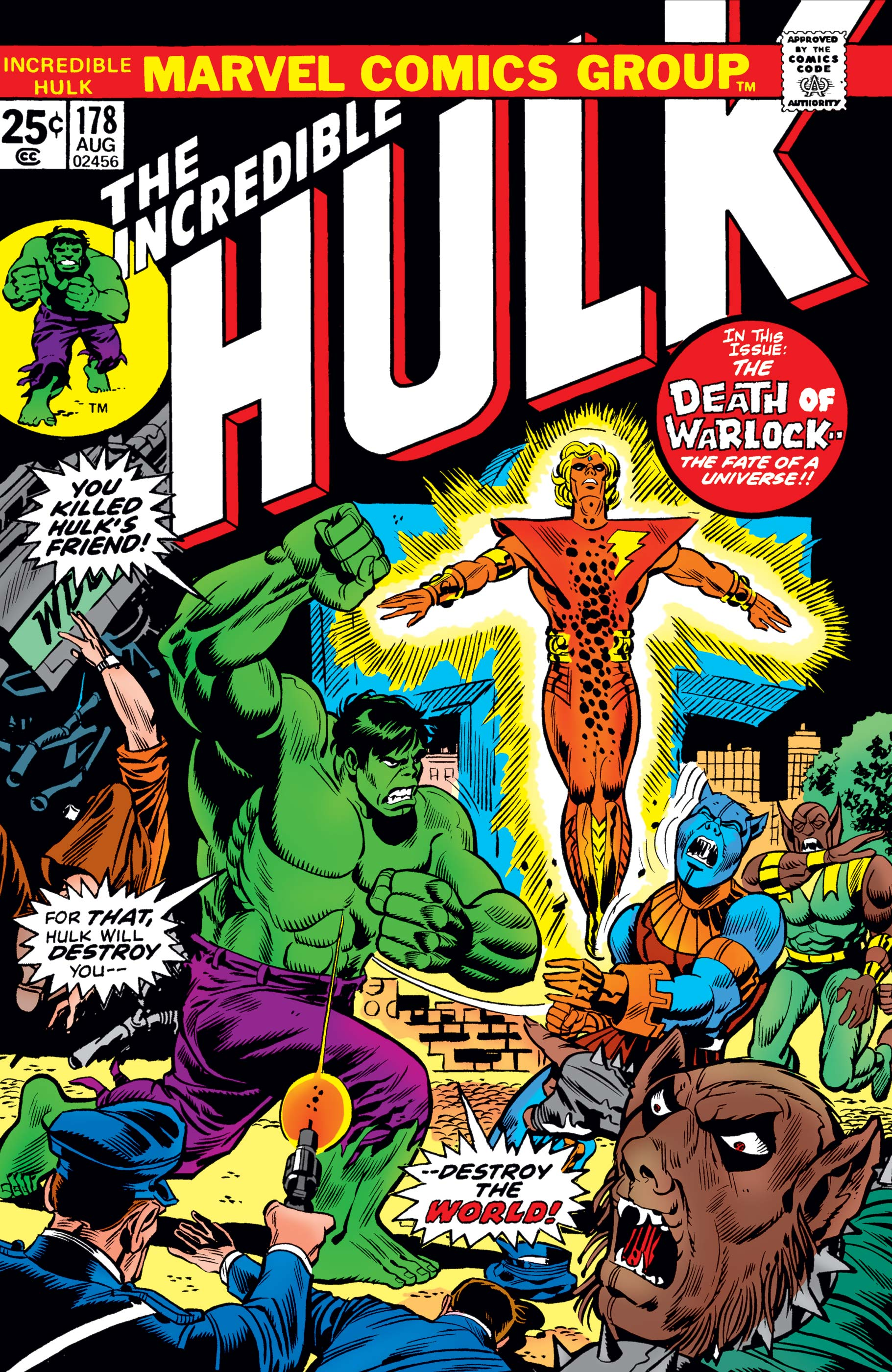 Incredible Hulk Vol 1 178