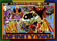 Infinity War from Marvel Universe Cards Series IV 0001