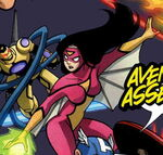 Jessica Drew (Earth-68326) Avengers and Power Pack Assemble! Vol 1 4