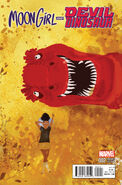 Moon Girl and Devil Dinosaur Vol 1 2 Campion Variant
