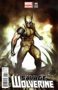 Savage Wolverine Vol 1 3 Granov Variant