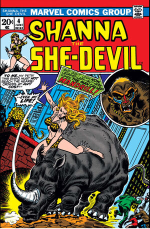 Shanna, The She-Devil Vol 1 4