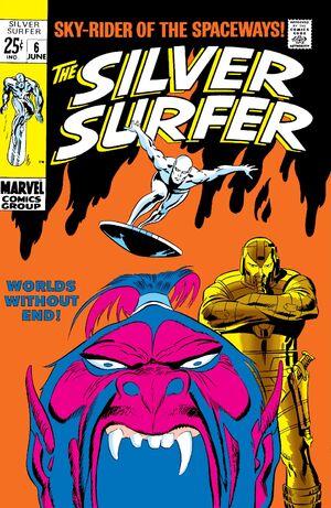 Silver Surfer Vol 1 6