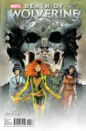 Death of Wolverine Vol 1 4 Hastings Exclusive Variant