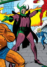 Esteban Corazón de Ablo (Earth-616) freed in the modern age from Fantastic Four Vol 1 30