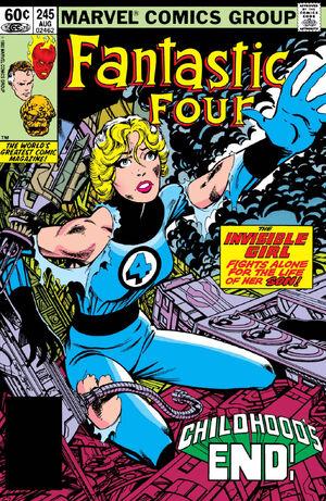 Fantastic Four Vol 1 245