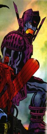 Galan (Earth-22666) from Marvel Universe Millennial Visions Vol 1 1 001