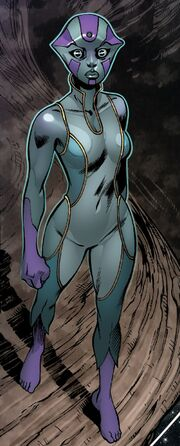 Gara (Viscardi) (Earth-616) from Guardians of the Galaxy & X-Men Black Vortex Alpha Vol 1 1 001