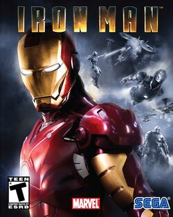 Iron Man (video game) US cover