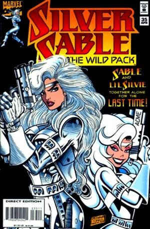 Silver Sable and the Wild Pack Vol 1 35