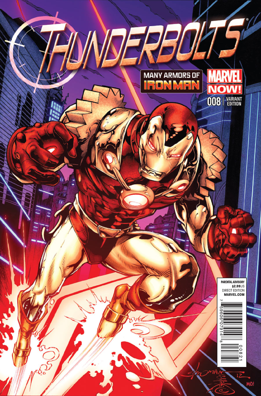 Thunderbolts Vol 2 8 Many Armors of Iron Man Variant.jpg