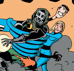 Victor von Doom (Earth-200502) and Fantastic Four (Earth-200502) from Wha...Huh Vol 1 1 001