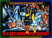 X-Cutioner's Song from Marvel Universe Cards Series IV 0001