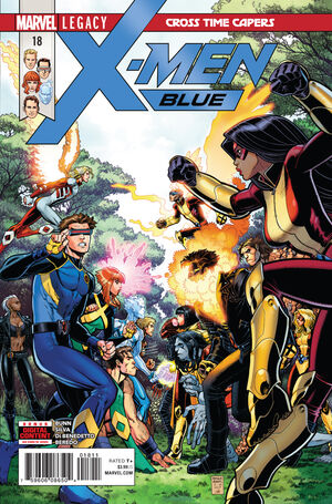 X-Men Blue Vol 1 18