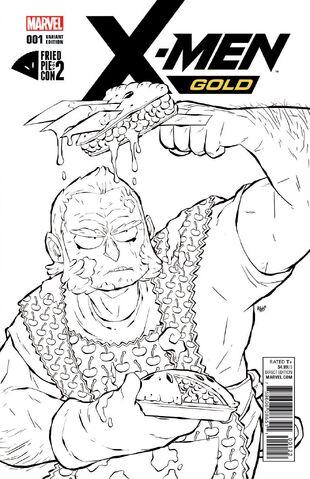File:X-Men Gold Vol 2 1 Fried Pie Con Vol. 2 Exclusive Variant.jpg