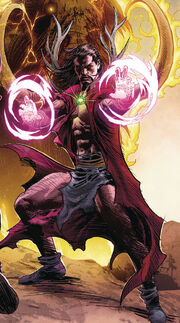 Agamotto (Earth-616) from Marvel Legacy Vol 1 1 Deodato Wraparound Variant Textless