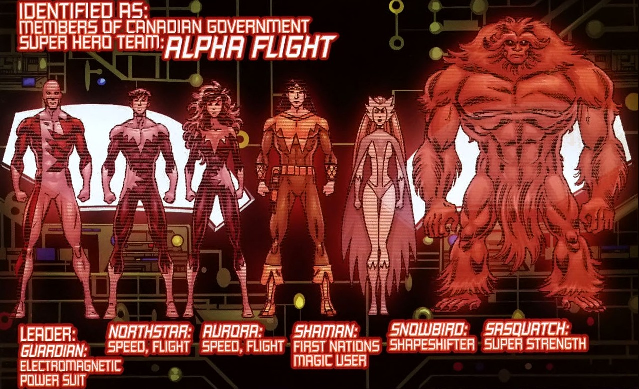 Alpha Flight (Earth-20051) | Marvel Database | FANDOM powered by Wikia