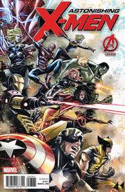 Astonishing X-Men Vol 4 7 Avengers Variant