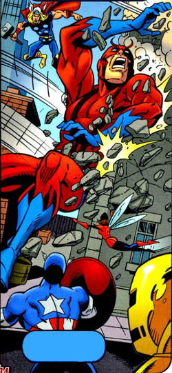 Avengers (Earth-9411) Spectacular Spider-Man (UK) Vol 1 150