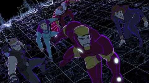 "Avengers Assemble Episode 8 ""Molecule Kid"" Clip"