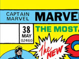 Captain Marvel Vol 1 38