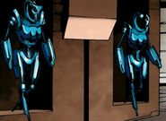 Danger (Drone Delta) (Earth-11326) and Danger (Drone Epsilon) (Earth-11326) from New Mutants Vol 3 22 0001