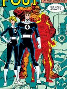 Fantastic Four (Earth-616) during the Acts of Vengeance from Fantastic Four Vol 1 334