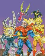 Galactic Guardians (Earth-691) from Galactic Guardians Vol 1 1 Cover