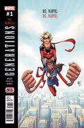 Generations Ms. Marvel & Ms. Marvel Vol 1 1